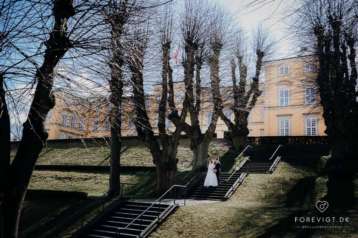 Frederiksberg slot bryllup